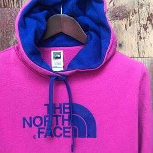 The North Face Sweatshirt w/Hoodie Large